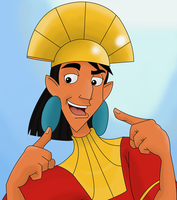 It is me, emperor Kuzco by Teejii