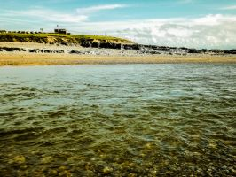 Colourful Skies Overlooking Ogmore Beach May 2012 by welshrocker