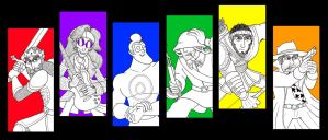 Colourful Personalities by 010001110101