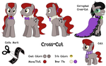 Commission: Cross-Cut Reference Sheet by masemj