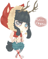 .:Chance the Lucky Jackalope:. by Pieology