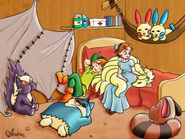Peter and Wendy's DayCare by VibaFleischer