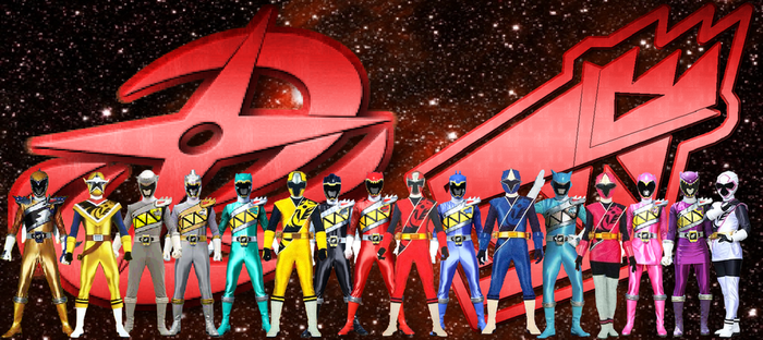 Dino Charge Ninja Steel Team-Up by rangeranime