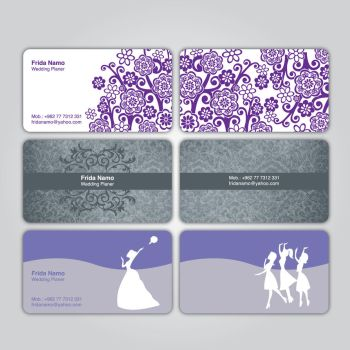 Frida Business cards by graphinate