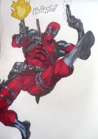 Deadpool by magenahemar