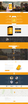 Mobiling - One Page App Landing Page by GokhanKara00