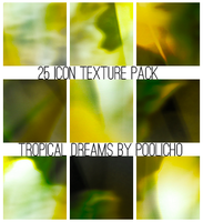 25 Icon Textures Pack I - Tropical Dreams by poolichoo
