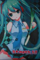 Hatsune Miku Wall Scroll. by Animeprado17
