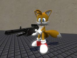 Tails the shotgunner by soyersoldier