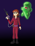 Ghostbuster Yomi and Slimo by ZeFrenchM
