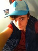 Dipper Pines Cosplay by SwankyBird