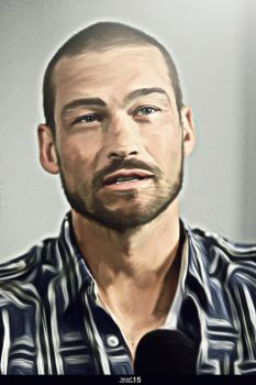 Andy Whitfield by Toti-Gogeta
