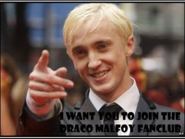 Join the Draco Malfoy fanclub by firedevlin