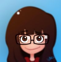 Me and mi glasses by Juzurei