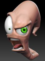Earthworm Jim by PatrickPower