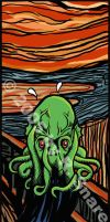 Cthulhu Screams by ministan