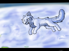 Playfully in Snow :CM: by TabbyFeather