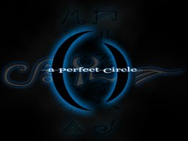 A Perfect Blue and Grey Circle by wisecow