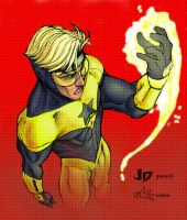 Booster Gold Color by efrain-elijah