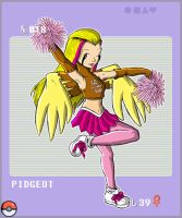 Gijinka Pokemon 018 Pidgeot by saurodinus