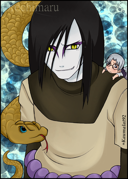 + Orochimaru + by Km92