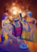 Duke Nukem Fanart - COME GET SOME !!! by tonton-jojo