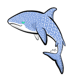 Whale Shark by MischievousPooka