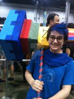 Oh my god stop being adorable- (ACEN 2013) by AddictedMenace