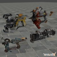 Dead Space 2 Weapons Pack by toughraid3r37890