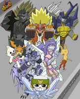 Digimon Frontier: My REAL Submission by junolastimosa