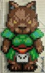 A Stuffed Something by PerlerPixie