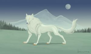 Silver Fang by Louisetheanimator