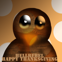 Happy Thanksgiving by Hellrebel