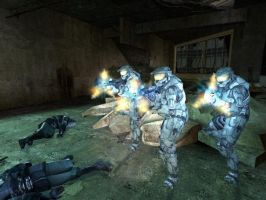 Spartans in Gmod by bhaney2007