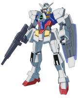 Gundam AGE-1 Normal by Rom-Stol