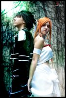 Kirito And Asuna Alfheim cosplay (SAO) by AstronSama