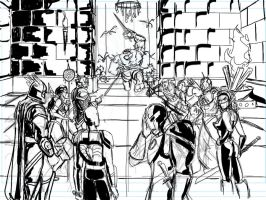 WOW Avengers - SKETCH by Theamat