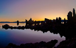 Sunrise at Mono Lake by invisiblelife