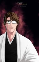 Aizen Sosuke 5th captain by Louen666