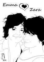 Emma n' Zara by DarkFurianX