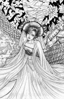 Lament of an Empress by PinkCaribou