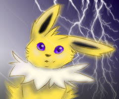 In My Element - Jolteon by Alouncara