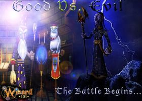 Good VS Evil: Wizard 101 by The-Sexy-Roxas