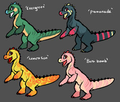 DINOFLOOF Adoptables by Rinermai