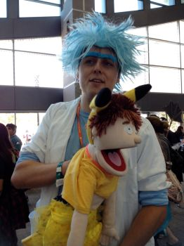 puppet Morty by FrogGod1