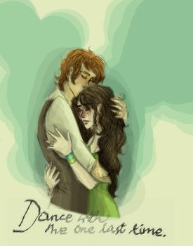 Finnick and Annie: One last time by xxIgnisxx