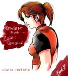 Claire Redfield_R.E.C.V. by Ferenand