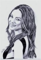 Mila Kunis by Exenity