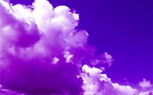 purple clouds by anniexhx