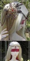 BJD jewellry : headdress 001-1 by lysel